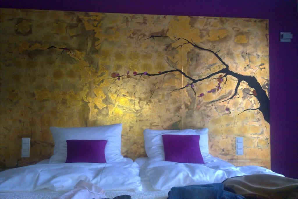 Wandgestaltung Hotelzimmer